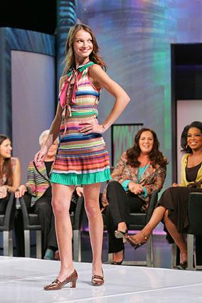 Striped knit dress by Missoni