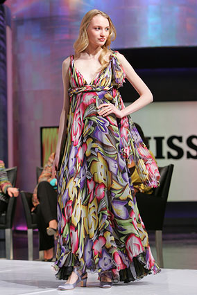 Floral dress by Missoni