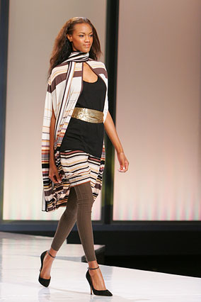 A layered look for winter by Missoni