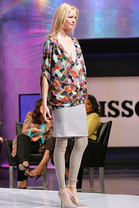 Ruffled skirt and top by Missoni