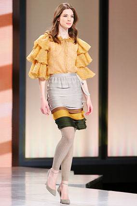 Blouse and skirt by Missoni