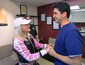 Mary Jo meets Dr. Azizzadeh