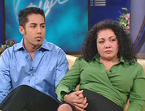 Luis and his mother, Marilyn