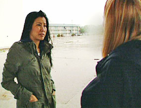 Lisa and 'Amber'