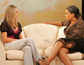 Kristin Armstrong and Oprah
