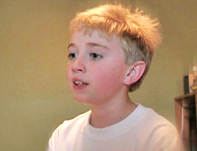 Benton, Leigh's 8-year-old son
