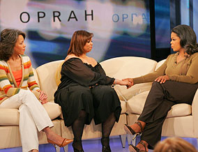 Lauren and Oprah