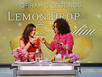 Oprah's Legends Lemon Drop Martini