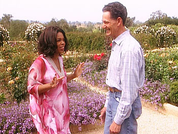 Oprah's Santa Barbara garden