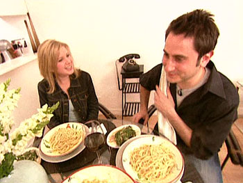 Rachael's pasta recipe wows this young couple