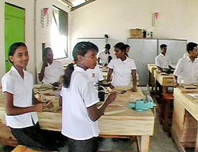 The Oprah's Angel Network Center for Learning in Sri Lanka