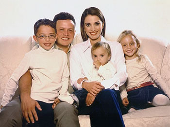 The Royal family of Jordan