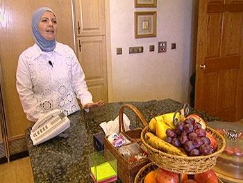 A Jordanian woman