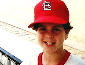 Brad as a child