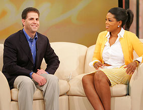 Brad Cohen and Oprah