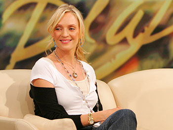 Uma Thurman on inspiring others