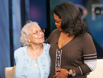 Oprah and Maggie Turner