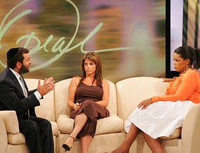 Rabbi Shmuley, Carolyn and Oprah
