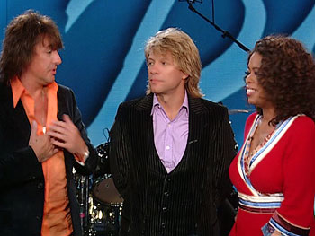 Richie Sambora, Oprah and Jon Bon Jovi