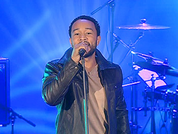 John Legend performs 'Save Room'