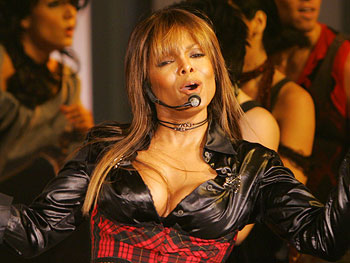 Janet Jackson performs 'Nasty.'