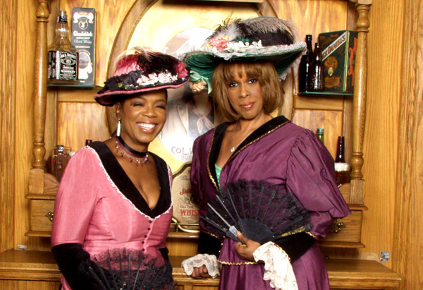 Oprah and Gayle's 'Old West' photo