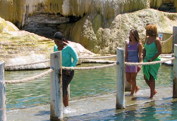 Pagosa Springs' healing waters