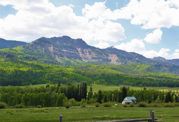 A stunning view in South Fork, Colorado