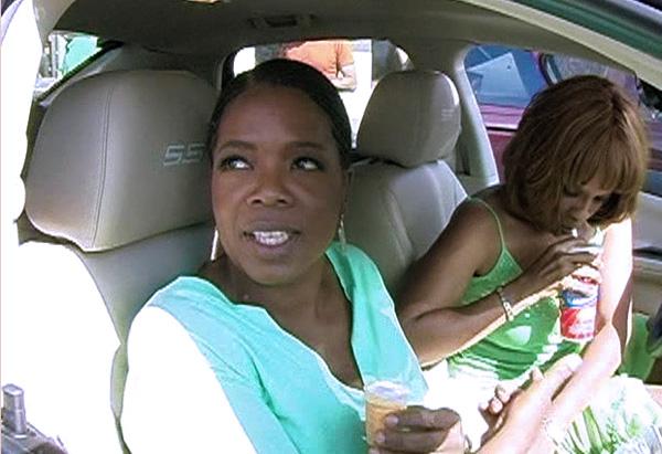 Oprah visits a Dairy Queen