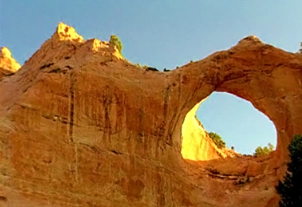 Window Rock, Arizona, capital of Navajo nation