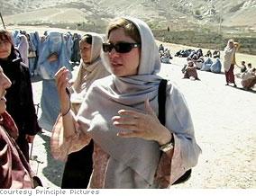 Susan in Afghanistan