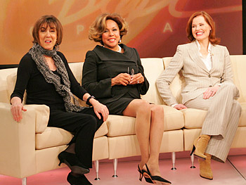 Nora Ephron, Diahann Carroll and Geena Davis