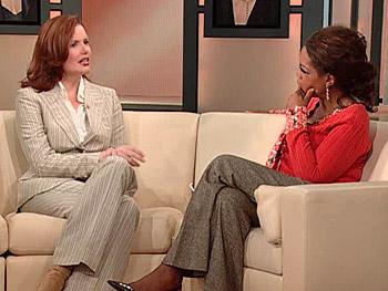 Geena Davis and Oprah