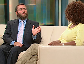 Rabbi Shmuley and Oprah