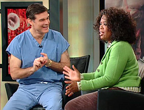 Dr. Oz and Oprah