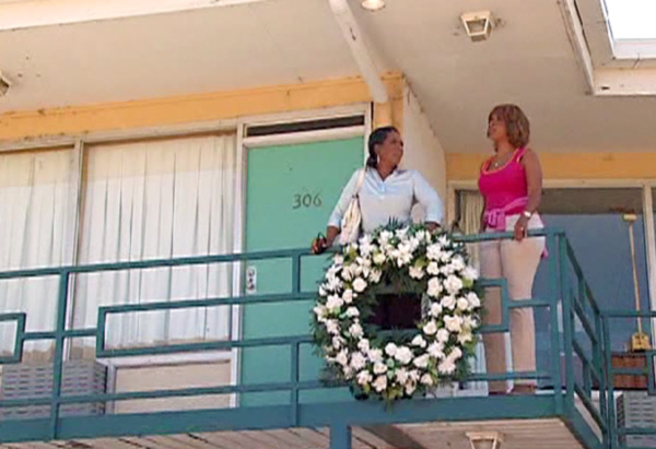 Oprah and Gayle at the Lorraine Motel