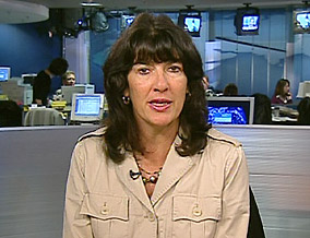 Christiane Amanpour, CNN's chief international correspondent