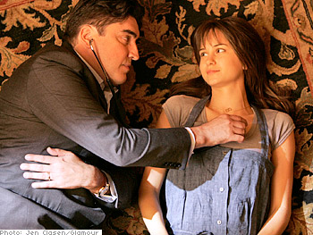 Alfred Molina and Katherine Waterston in 'Orchid.'
