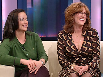 Alexa Raad and Carol Leifer