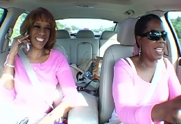 Oprah and Gayle