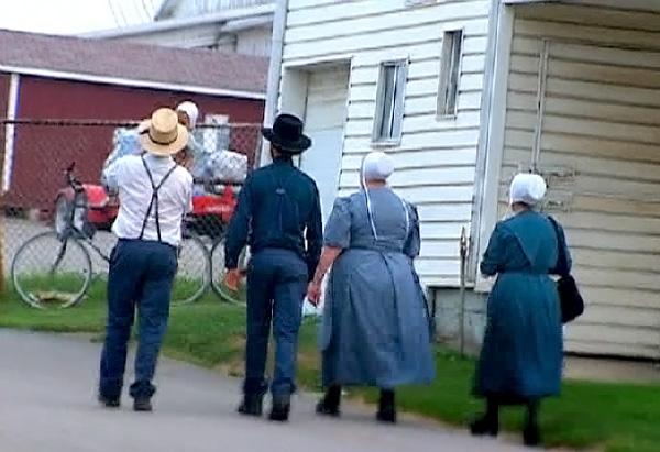 Amish country in Fredericksburg, Ohio