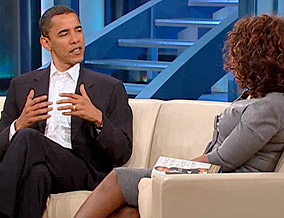 Barack and Oprah