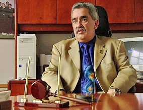 Rogelio Flores, a superior court judge in Santa Barbara