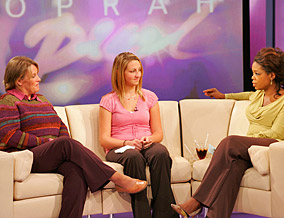 Brianna, Tracy and Oprah