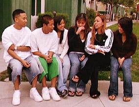 Trang and her five siblings