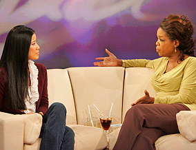 Lisa Ling and Oprah