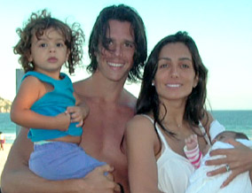 Andrea and her family