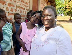 Bakoko Zoe and her children