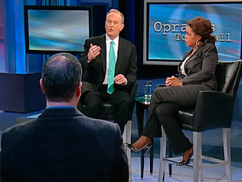 Bill O'Reilly, Oprah and an audience member