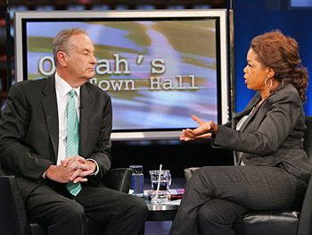 Bill O'Reilly and Oprah